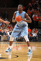 North Carolina forward Joel James (42) during an NCAA basketball game Monday Jan. 20, 2014 in Charlottesville, VA. Virginia defeated North Carolina 76-61.