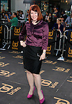 "Hollywood, CA - June 25: Kate Flannery arrives at the Los Angeles premiere of ""Bruno"" at the Grauman's Chinese Theatre on June 25, 2009 in Hollywood, California."