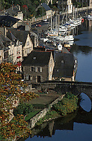 Europe/France/Bretagne/22/Côtes d'Armor/Dinan : Le port