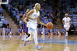 30 December 2014: North Carolina's Latifah Coleman. The University of North Carolina Tar Heels hosted the University at Albany Great Danes at Carmichael Arena in Chapel Hill, North Carolina in a 2014-15 NCAA Division I Women's Basketball game. UNC won the game 71-56.