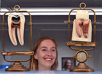 LONDON, ENGLAND - MAY 15: New exhibition featuring over 150 objects, including Napoleon&rsquo;s toothbrush and the tools used by Queen Victoria and her family&rsquo;s dentist, traces the evolution of our relationship with our teeth and what they say about us, at Wellcome Collection on May 15th, 2018 in London, England.<br /> CAP/JOR<br /> &copy;JOR/Capital Pictures