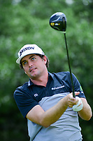 Keegan Bradley (USA) watches his tee shot on 9 during round 2 of the Valero Texas Open, AT&amp;T Oaks Course, TPC San Antonio, San Antonio, Texas, USA. 4/21/2017.<br /> Picture: Golffile | Ken Murray<br /> <br /> <br /> All photo usage must carry mandatory copyright credit (&copy; Golffile | Ken Murray)
