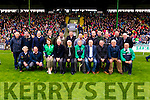 The Ballyduff 1991 team honoured at half time of the County Senior Hurling Final at Austin Stack Park on Sunday.