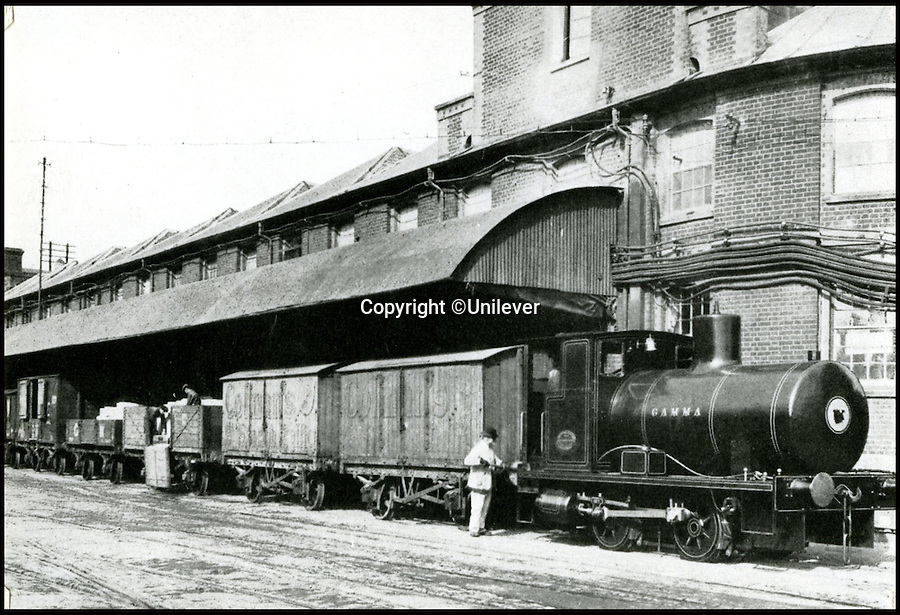 BNPS.co.uk (01202 558833)<br /> Pic: Unilever/BNPS<br /> <br /> 'Gamma' loco at Carrow road in 1890.<br /> <br /> A staple of the British kitchen is celebrating its anniversary this year as Colman's Mustard turns 200.<br /> <br /> Archivist's research reveals the 200 year history of Colmans mustard.<br /> <br /> Founded in Norwich in 1814 by Jeremiah Colman, the super hot condiment made from Norfolk mustard seeds soon become a family favourite at dinner tables throughout the Empire, with even Capt Scott taking a case on his ill fated Terra Nova expedition to the south pole.<br /> <br /> So vital was the powdered sauce that it escaped wartime rationing to keep the home fires burning during the dark days of WW2. <br /> <br /> Despite being founded a year before Napoleon met his Waterloo, the world famous brand still produces 3000 tons of the fiery favourite every year exporting to all parts of the globe.