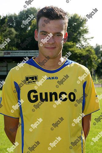 2008-07-29 / Voetbal / Seizoen 2008-2009 / K WIjnegem VC / Dominic Maertens ..Foto: Maarten Straetemans (SMB)
