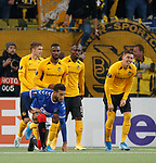 03.10.2019 Young Boys of Bern v Rangers: Connor Goldson dejection