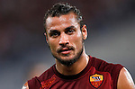 Calcio, Serie A: Roma-Catania. Roma, stadio Olimpico, 26 agosto 2012..AS Roma forward Pablo Daniel Osvaldo warms up prior to the start of the Italian Serie A football match between AS Roma and Catania, at Rome, Olympic stadium, 26 August 2012. .UPDATE IMAGES PRESS/Isabella Bonotto