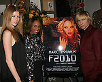 Heide Lindgren, Deborah Cox  and Marc Bouwer attend MARC BOUWER's EXCLUSIVE SCREENING of the FW2010 film starring CANDICE SWANEPOEL at the Leo Kesting Gallery, New York-   -February 18, 2010