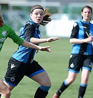 Zulte C - Club Brugge B : Dames Club Brugge B kampioen in 1ste provinciale met Sara Bakar<br /> Foto David Catry | Sportpix.be