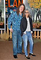 "LOS ANGELES, USA. October 11, 2019: Weird Al Yankovic & Suzanne Yankovic at the premiere of ""Zombieland: Double Tap"" at the Regency Village Theatre.<br /> Picture: Paul Smith/Featureflash"