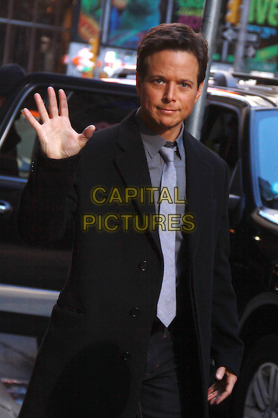 NEW YORK, NY - FEBRUARY 24: Scott Wolf at Good Morning America promoting the 2nd season of Perception on February 24, 2014 in New York City, NY., USA.<br /> CAP/MPI/RW<br /> &copy;RW/ MediaPunch/Capital Pictures