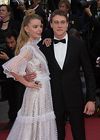 George MacKay and Anya Taylor-Joy at the premiere for &quot;The Meyerowitz Stories&quot; at the 70th Festival de Cannes, Cannes, France. 21 May  2017<br /> Picture: Paul Smith/Featureflash/SilverHub 0208 004 5359 sales@silverhubmedia.com
