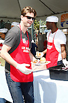 April 2, 2010: Gale Harold at the LA Mission Easter Luncheon event for the homeless in Los Angeles, California. .Photo by Nina Prommer/Milestone Photo.