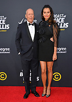 LOS ANGELES, CA - July 14, 2018: Bruce Willis & Emma Heming  at the Comedy Central Roast of Bruce Willis at the Hollywood Palladium<br /> Picture: Paul Smith/Featureflash.com