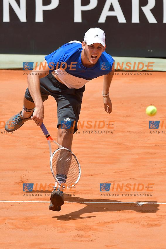 Dominic Thiem (AUT)<br /> Roma 12-05-2016  Foro Italico<br /> Internazionali BNL d'Italia, <br /> Tennis ATP<br /> Foto Antonietta Baldassarre / Insidefoto
