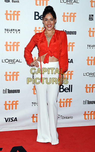 11 September 2017 - Toronto, Ontario Canada - Q'orianka Kilcher. 2017 Toronto International Film Festival - &quot;Hostiles&quot; Premiere held at Princess of Wales Theatre. <br /> CAP/ADM/BPC<br /> &copy;BPC/ADM/Capital Pictures