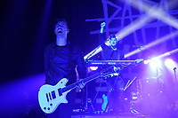 LONDON, ENGLAND - OCTOBER 10: Jerry Horton of 'Papa Roach' performing at Brixton Academy on October 10, 2017 in London, England.<br /> CAP/MAR<br /> &copy;MAR/Capital Pictures