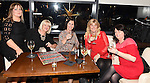 Lisa Judge, Olive Duffy, Maria Judge, Linda McDonnell and Lorraine Maher enjoying the christmas fun in Brú. Photo:Colin Bell/pressphotos.ie