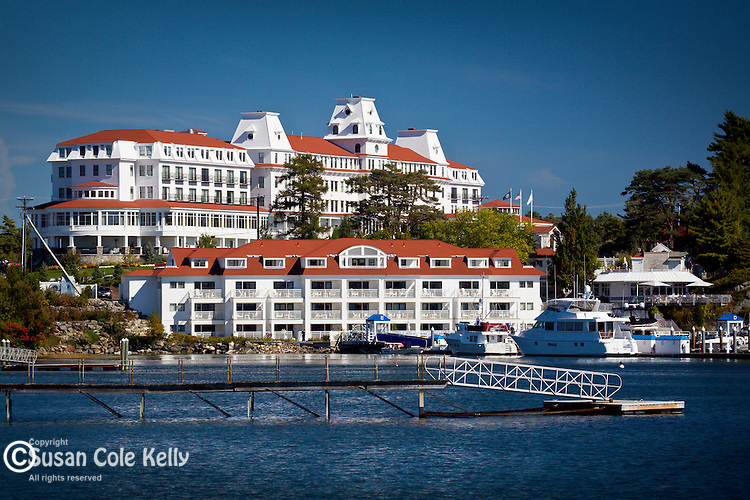 Wentworth-by-the-Sea, a grand seaside hotel near Portsmouth in Newcastle, NH, USA