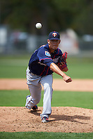 Minnesota Twins Jose Berrios (68) during a minor league Spring Training intrasquad game on March 15, 2016 at CenturyLink Sports Complex in Fort Myers, Florida.  (Mike Janes/Four Seam Images)
