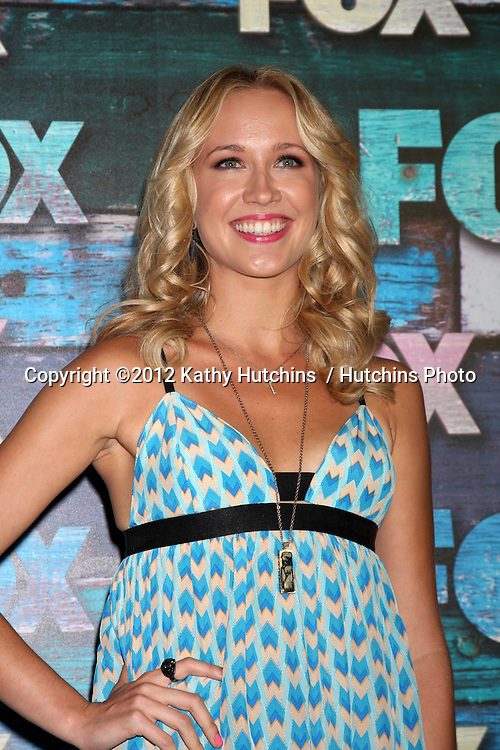 LOS ANGELES - JUL 23:  Anna Camp arrives at the FOX TCA Summer 2012 Party at Soho House on July 23, 2012 in West Hollywood, CA