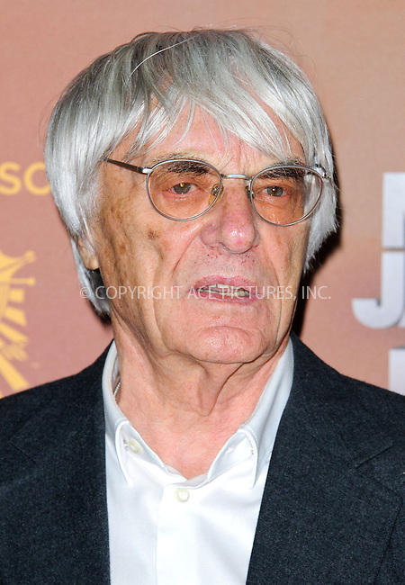 WWW.ACEPIXS.COM....US Sales Only....October 12 2012, London....Bernie Ecclestone at the European premiere of 'Michael Jackson: The Immortal World Tour' at the O2 Arena on October 12 2012  in London....By Line: Famous/ACE Pictures......ACE Pictures, Inc...tel: 646 769 0430..Email: info@acepixs.com..www.acepixs.com