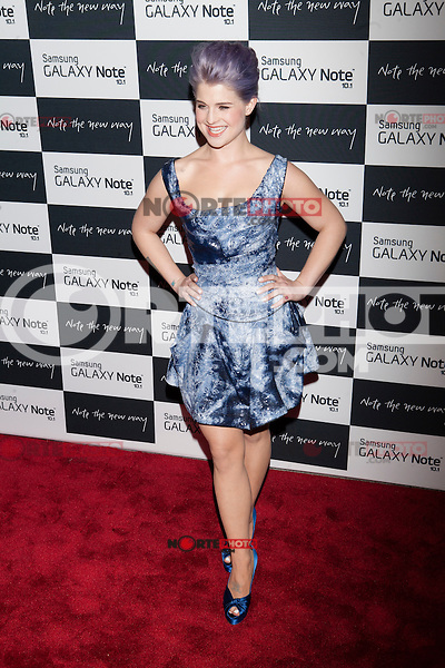 Kelly Osbourne attends the Samsung Galaxy Note 10.1 Launch Event in New York City, August 15, 2012. ©Diego Corredor/MediaPunch Inc. /NortePhoto.com<br /> <br /> **CREDITO*OBLIGATORIO** *No*Venta*A*Terceros*<br /> *No*Sale*So*third* ***No*Se*Permite*Hacer*Archivo***No*Sale*So*third*