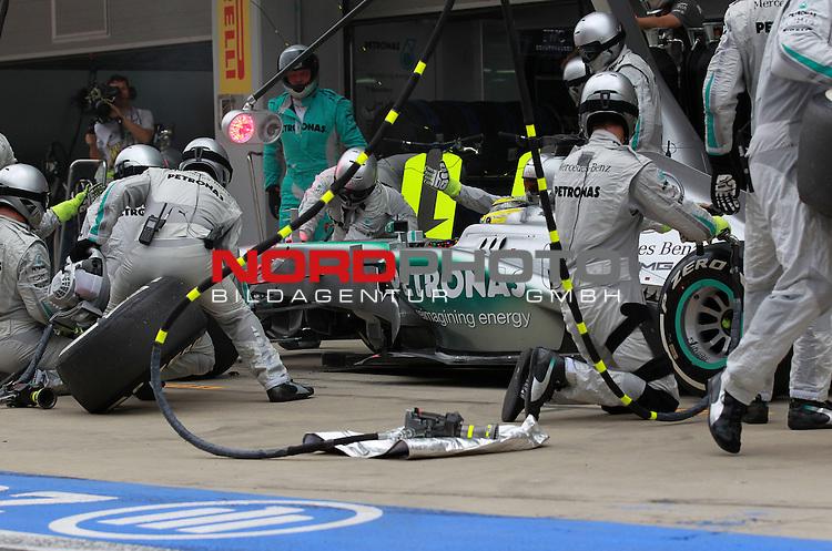 Nico Rosberg (GER), Mercedes GP <br /> for Austria &amp; Germany Media usage only!<br />  Foto &copy; nph / Mathis