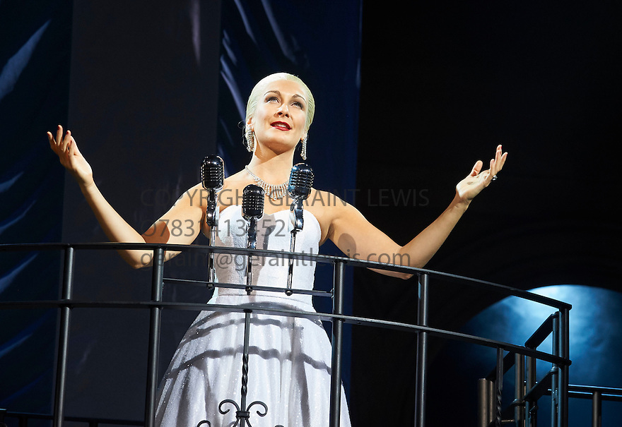Evita . Music by Andrew Lloyd Webber, Lyrics by Tim Rice . With Madalena Alberto as Evita. Opens at The Dominion Theatre on 22/9/14. CREDIT Geraint Lewis