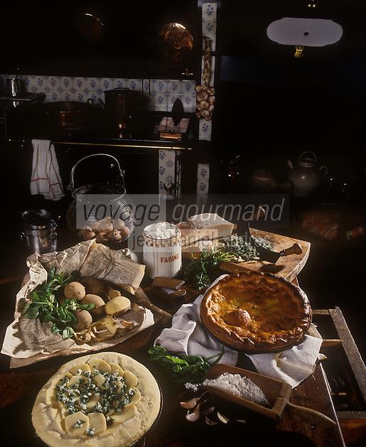 Europe/France/Limousin/87/Haute Vienne/Magnac-Bourg: Paté de pomme de terre du Limousin