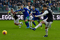 1st December 2019; Allianz Stadium, Turin, Italy; Serie A Football, Juventus versus Sassuolo; Cristiano Ronaldo of Juventus equalizes for 2-2 from a penalty kick in the 68th minute - Editorial Use