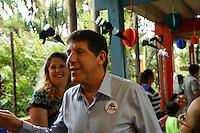 SÃO PAULO, SP, 02.12.2016 - DENGUE-SP . O Secretário de Saude David Uip participa de evento de lançamento da campanha contra a dengue, na escola Alcides da Costa Vidigal, no Butantã, zona oeste de São Paulo, na manhã desta sexta-feira, 02.(Foto: Adriana Spaca/Brazil Photo Press)