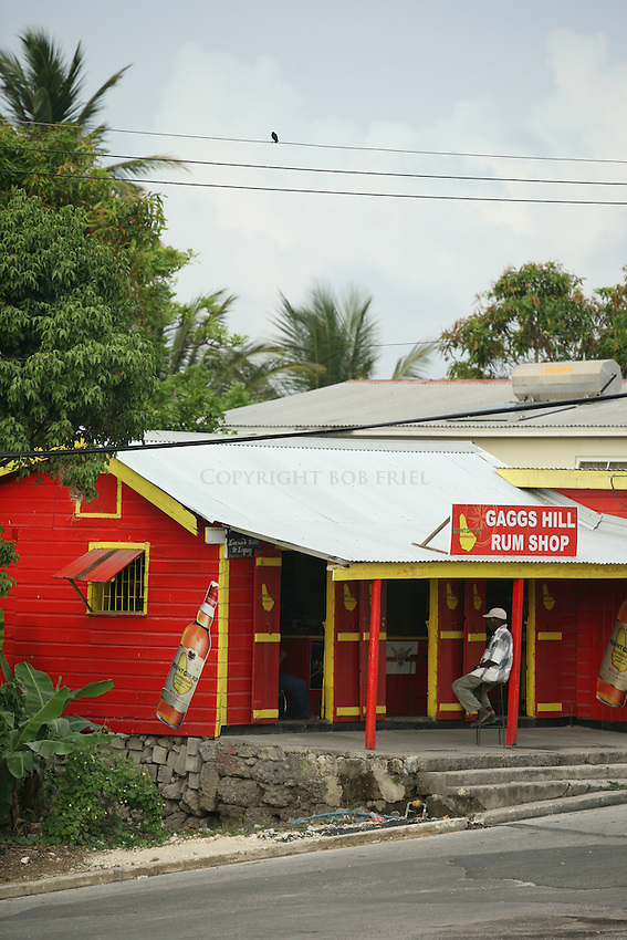 Gaggs Hill Rum Shop.Bathsheba, St. Joseph Parish.Barbados
