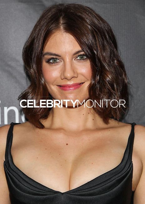 HOLLYWOOD, LOS ANGELES, CA, USA - OCTOBER 29: Lauren Cohan arrives at the 2014 amfAR LA Inspiration Gala at Milk Studios on October 29, 2014 in Hollywood, Los Angeles, California, United States. (Photo by Celebrity Monitor)