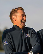 23.09.2014. Gleneagles, Auchterarder, Perthshire, Scotland.  The Ryder Cup.  Ian Poulter (EUR)  during the team photo call.