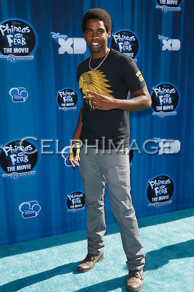 "DANIEL CURTIS LEE. Hollywood Premiere of Disney Channel's Original Movie, ""Phineas and Ferb: Across the 2nd Dimension,"" at the El Capitan Theatre. Hollywood, CA USA. August 3, 2011. ©CelphImage"