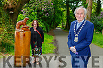 Killarney Mayor Michael Gleeson and Yvonne Quill Killarney Tidy towns are worried about the anti social behavior in the National Park