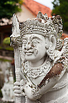 Stone statue in the grounds of the Bramavihara-Arama Buddhist Temple, in northern Bali (Indonesia).