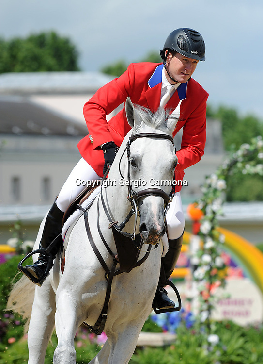 Olympic Games 2012; Equestrian - Venue: Greenwich Park. McLain Ward (USA).Horse: Antares.