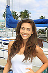 General Hospital Lindsey Morgan takse a break on Blondi, Marco Island at SoapFest's Celebrity Weekend - Cruisin' and Schmoozin' on the Marco Island Princess - mix and mingle and watching dolphins - autographs, photos, live auction raising money for kids on November 11, 2012 Marco Island, Florida. (Photo by Sue Coflin/Max Photos)