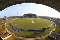 February 26th 2020, the Mahinda Rajapaksha International Stadium, Hambantota, Sri Lanka; One Day International cricket, Sri Lanka versus West Indies; The Mahinda Rajapaksha International Stadium