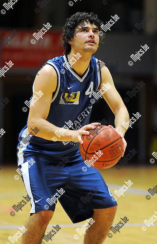 2011-09-27 / Basketbal / seizoen 2011-2012 / Nieuw Brabo Antwerpen / Thibault Koppen..Foto: Mpics