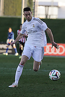 Real Madrid Castilla´s Burgui during 2014-15 Spanish Second Division match between Real Madrid Castilla and Athletic Club B at Alfredo Di Stefano stadium in Madrid, Spain. February 08, 2015. (ALTERPHOTOS/Luis Fernandez) /NORTEphoto.com
