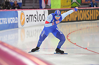SPEEDSKATING: HAMAR: Vikingskipet, 28-02-2020, ISU World Speed Skating Championships, Sprint, 500m Men, Henrik Fagerli Rukke (NOR), ©photo Martin de Jong