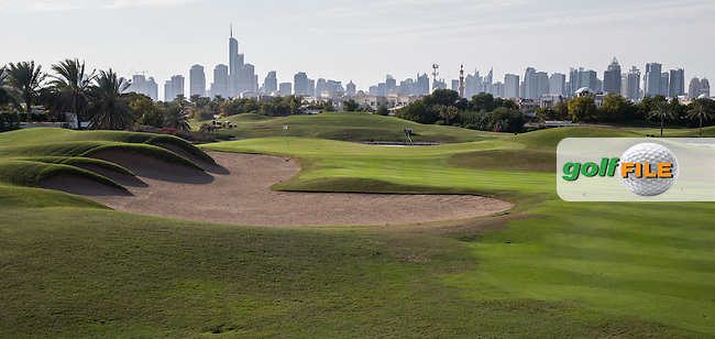 15th fairway at The Address Montgomerie Golf Club, Dubai, United Arab Emirates.  27/01/2016. Picture: Golffile | David Lloyd<br /> <br /> All photos usage must carry mandatory copyright credit (&copy; Golffile | David Lloyd)