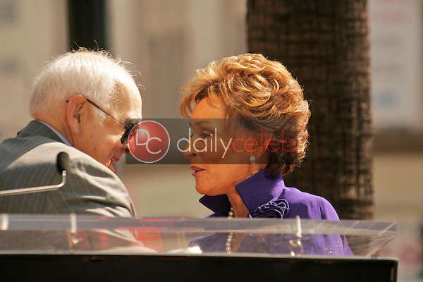 Johnny Grant and Judge Judy Sheindlin<br />at the Ceremony honoring Judge Judy Sheindlin with a star on the Hollywood Walk of Fame. Hollywood Boulevard, Hollywood, CA. 02-14-06