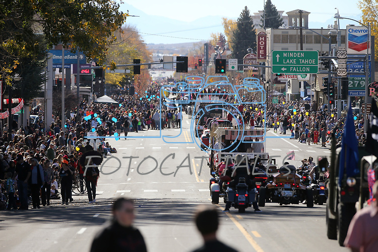 Images from the 79th Nevada Day parade in Carson City, Nev., on Saturday, Oct. 28, 2017. <br /> Photo by Cathleen Allison/Nevada Momentum