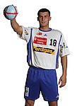 Handball Bundesliga 2005/2006 Autogrammkarten Concordia Delitzsch Michal NOWAK (Concordia) Autogrammkarte, Portrait, Ball, Studio, Freisteller.