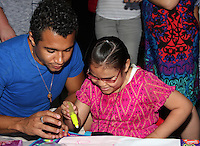 Corbin Bleu<br /> &quot;Stars 4 Smiles&quot; visiting children at hospital at Harbor-UCLA Medical Center, Torrance, CA 09-16-14<br /> David Edwards/DailyCeleb.com 818-249-4998