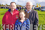 Mike and Aoife Foley from Ballylongford with Sean Guerin from Tarbert at the annual Ballylongford races held last Sunday.